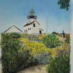 """Point Loma Lighthouse, San Diego"" by SheilaArt"
