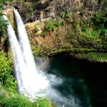 """Wailua Falls"" by peacepaw"