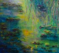 Tribute to Monet Lily Pond
