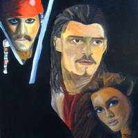 Pirates of the Caribbean Art Prints & Posters by kdurski