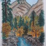 """Yosemite Valley"" by SheilaArt"