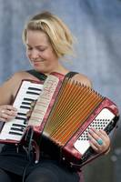 Brandy Zdan and Accordion