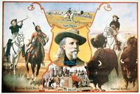 Buffalo Bill's Wild West Show - Vintage Poster