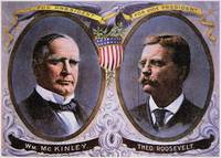 Campaign Poster for McKinley and Roosevelt