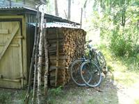 Finnish woodshed