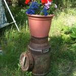 """""""Old milk can with flowers"""" by AnitaCouto"""