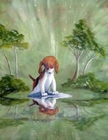 Beagle's reflection