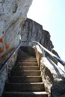 Climbing The Moro Rock Staircase, Sequoia National