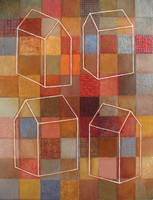 Four Houses. 2007 / acrylic on canvas
