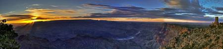 Grand Canyon Desert View Panorama