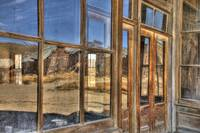 Distortion in Hotel Windows, Bodie