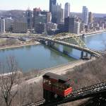 """Duquesne Incline and the city of Pittsburgh"" by milphog"