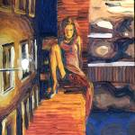 """linda by night"" by maurovitale"