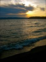 Sunset at North Beach, Burlington, Vermont