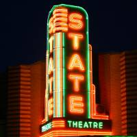 Ann Arbor - State Theater Art Prints & Posters by Pat Cook