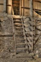 Old Stairs, Stamp Mill, Bodie