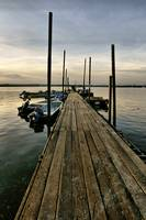 Wooden Jetty.