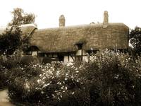 Ann Hathaway's Cottage (Sepia)
