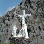 """Ireland, Westernmost Point, Jesus on the Cross"" by psupuma"
