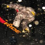 """Snowboarder 3, KSU Victory Bell, Dec 12, 2010"" by nitrophoto"