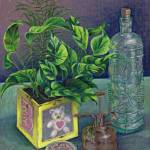 """Colored pencil still life"" by sboyle"
