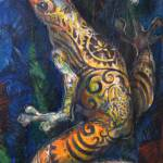 """""""The Tattooed Frog"""" by soniacolonnamathis"""