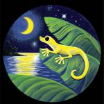 """Gecko and Moon"" by savanna"