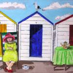 """Beach Huts"" by englishart"
