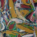 """Abstract painting: Dance Whirl I"" by visfineart"