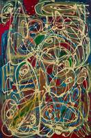 Abstract paiting: Abstract Expressionism Reflux