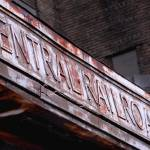 """Central Railroad Sign"" by justbecauseshecan"