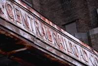 Central Railroad Sign