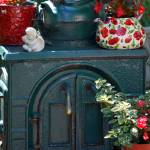 """Iron Stove with Flowers"" by lwoodburn"