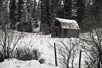 Old barn on Dufort Road, north Idaho