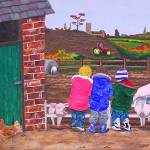 """A Day at the Farm"" by englishart"