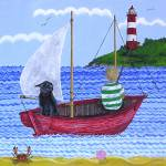 """Fishing Boat"" by englishart"