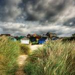 """The gathering storm, Old Hunstanton, Norfolk, UK"" by JohnEdwards"