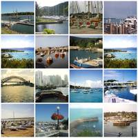 Harbors and Marinas Mosaic