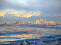 Alaska Anchorage Panorama December 2009
