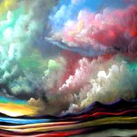 Clouds Art Prints & Posters by Matthew Hamblen