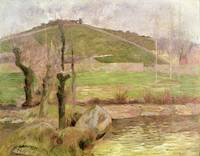 Landscape near Pont-Aven, by Gaugin, 1888