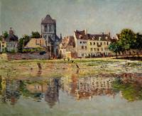 By the River at Vernon, 1883, by Claude Monet