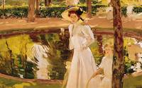 The Garden, 1913, by Joaquin Sorolla y Bastida