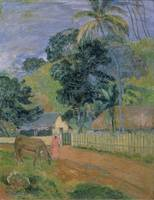The Landscape, 1899, by Paul Gauguin