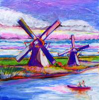 Windmills on the Canal