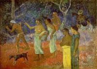 Scene from Tahitian Life, 1896, by Paul Gauguin