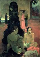 The Great Buddha, 1899, by Paul Gauguin