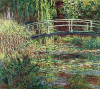 Waterlily Pond: Pink Harmony, 1900, by Claude Mone