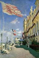 The Hotel des Roches Noires at Trouville, 1870, by