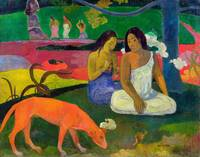 Arearea (The Red Dog), 1892, by Paul Gauguin